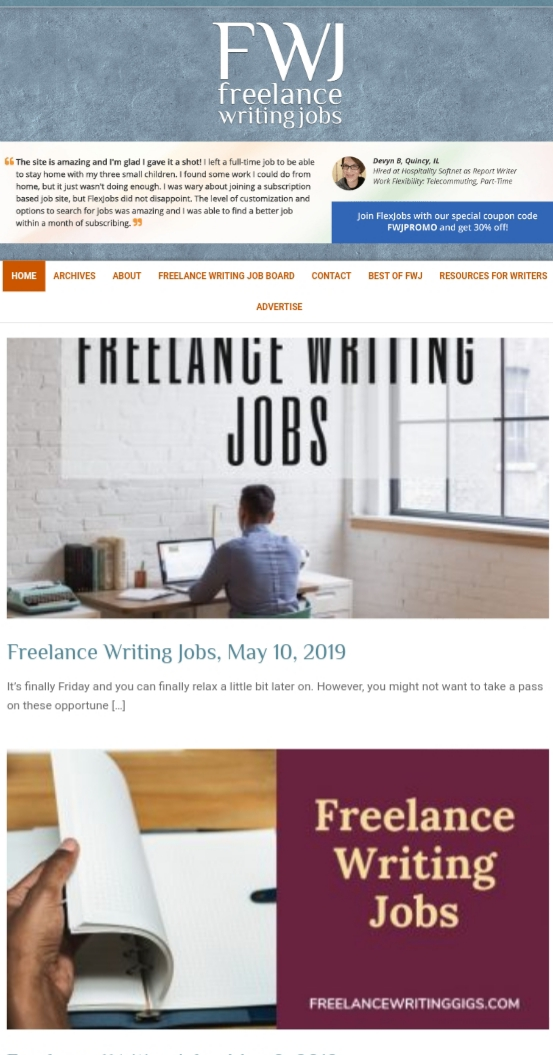 Content Markets, Freelance Writing Platforms, and Job Boards For