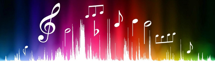 white-music-notes-and-colorful-audio-waves-web-header