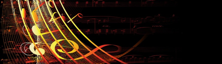 yellow-musical-notes-streaming-website-header